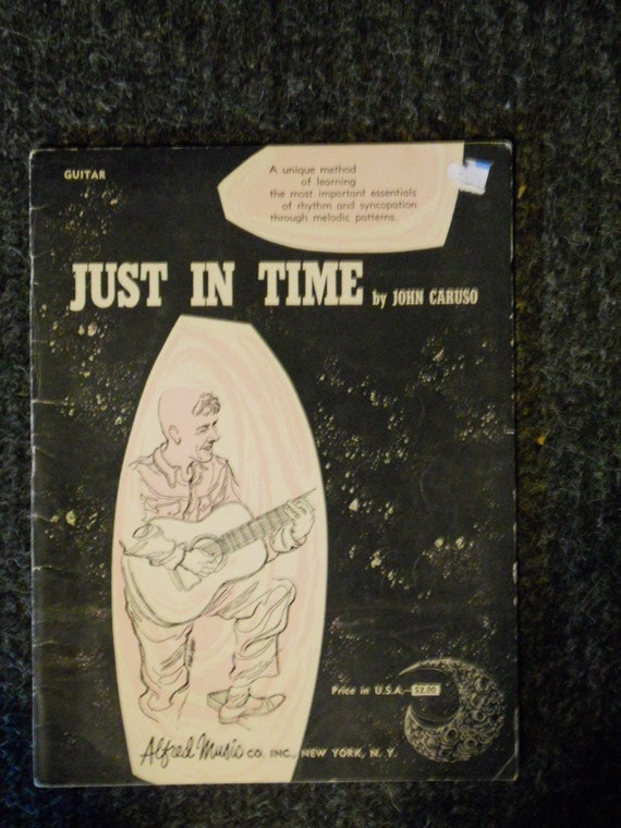 Vintage Just in Time Guitar Book-John Caruso-Alfred Music Co. Inc.