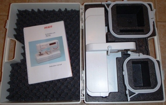 SALE... Pfaff Creative Fantasy Embroidery Unit For 7570 Sewing