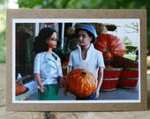Picking Out a Pumpkin note card