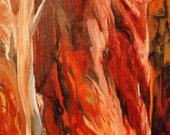 AUSTRALIAN CANYON - original oil painting 18x24