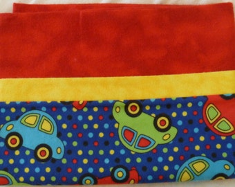 Cars - Snuggly Soft Flannel Standard Size Pillowcase