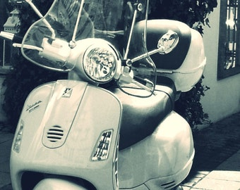 Little Vespa Photograph