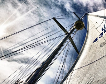 Sailing on the Chesapeake Bay Photograph