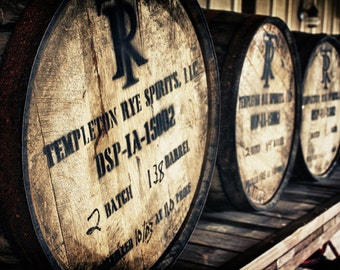 Templeton Rye Whiskey Barrels Photograph