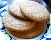 Honey Ginger Cookies (Digestives)