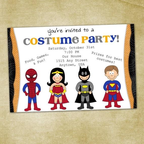 Halloween Invites Wording with nice invitation layout