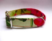 Small Dog Collar 'geranium'