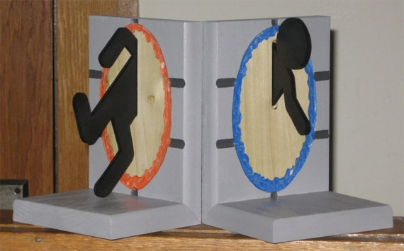 Portal bookends 2 0 i 39 m different - Portal bookend ...