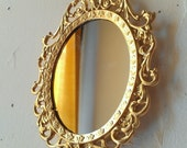 Tiny Fairy Princess Mirror in Bright Gold