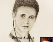 Custom Portrait Sketching By Talented 16yr Artist Single Person Custom Gift