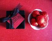 SWEET JEWELS CAKE BALLS Signature Red Velvet Cake Flavor - Gift Box of 5