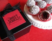 SWEET JEWELS CAKE BALLS Signature Red Velvet Cake Flavor - Gift Box of 18 pieces