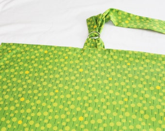 Green Dots Nursing Cover