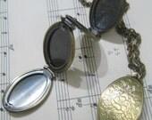 Four Fold Locket Necklace
