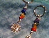 Chakra Keychains with Charms