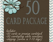 50 Card Printing Package