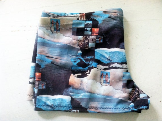 PHOTO REAL Surf Beach Boy Shorts Limited Edition Size L
