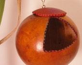 Bird House Bird Feeder - Gourd - shipping included