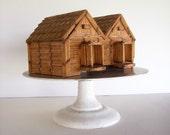 Folk Art Matchstick House
