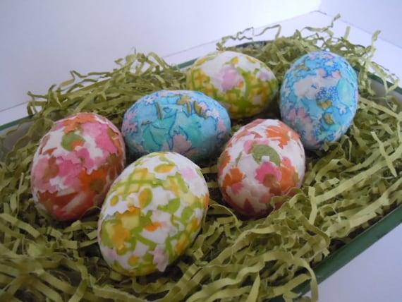Eggs Handmade Easter Eggs Farmhouse Fabric Home Decor Shabby Chic