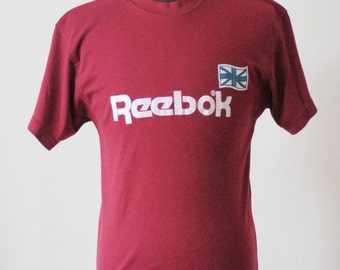 Black Friday Sale 80's REEBOK SOFT VINTAGE T-Shirt Collectable Shirt