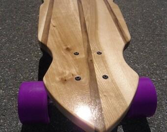 "Longboard - 40 x 9 - Birch and Walnut - ""Redondo"""