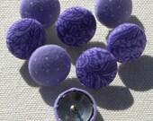 purple push pins