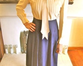 Vintage 1950's Knee Length Skirt- RESERVED FOR DANIELLE