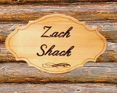 Personalized Wood Burned Welcome Sign
