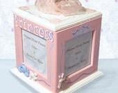 Princess Hand Painted Rotating Photo Box
