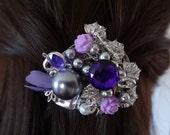 Purple Passion Hair Barrette