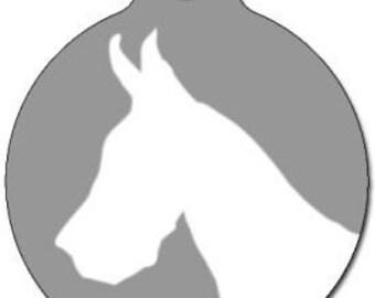Great Dane Dog ID Tag - Custom, Metal, Fully Personlized - Higher Quality
