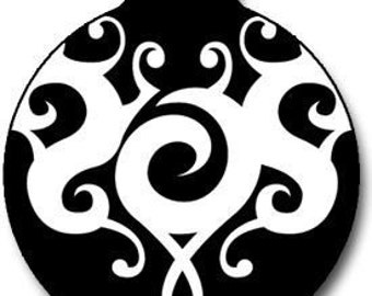 Black and White Tattoo ID Tag - Custom, Metal, Fully Personlized - Higher Quality