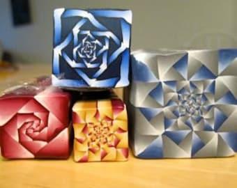 Tutorial: Polymer Clay Fractal Art Cane