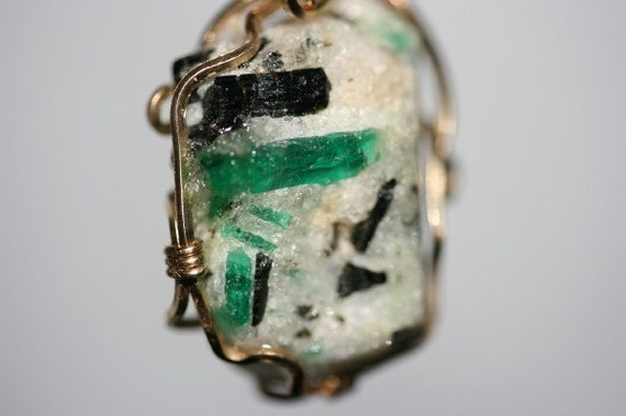 Jewelry Emerald Pendant