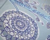 Marimekko Fabric - Kissanminttu - by Erja Hirvi 2008