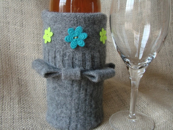 Fun and Funky Wine Bottle Cozy\/Bag