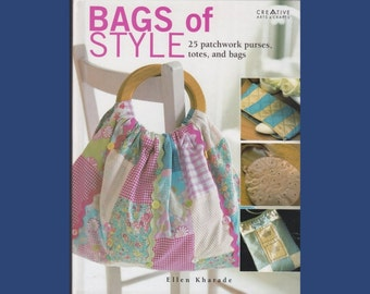 Book: Bags of Style - 25 patchwork purses, totes, and bags