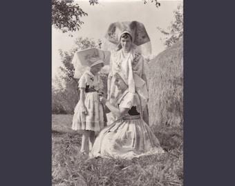 4 Vintage Costume Postcards - Spreewald - Germany - Europe