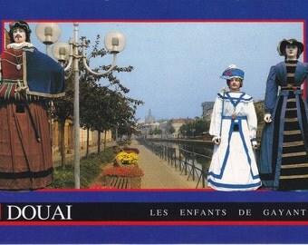 8 Vintage Costume Postcards - Carnival - Europe