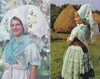 8 Vintage Costume Postcards - Spreewald - Germany - Europe