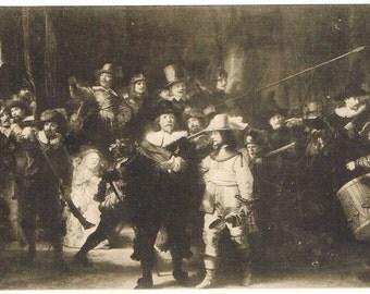 4 Vintage Rembrandt Postcards - Holland - Europe
