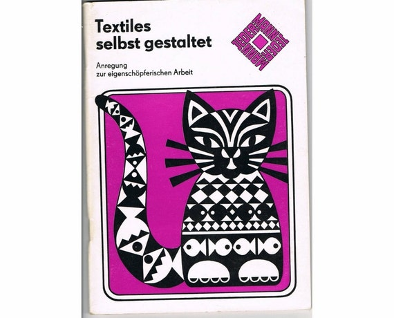 Home-made Textiles - East German Crafting Book