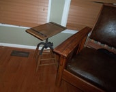 Vintage reclaimed stool / Side Table