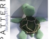 INSTANT DOWNLOAD : Pillow Pal Sea Turtle Crochet Pattern
