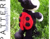 INSTANT DOWNLOAD : KISS Series - LadyBug Crochet Pattern