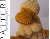 INSTANT DOWNLOAD : KISS Series - Duckling Crochet Pattern