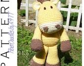 INSTANT DOWNLOAD : KISS Series - Giraffe Crochet Pattern