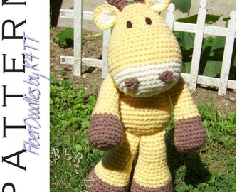 INSTANT DOWNLOAD : KISS Series - Giraffe Crochet Pattern