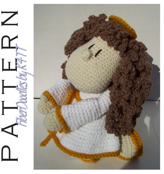 CROCHET PATTERN - KISS Series - Angel